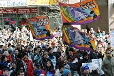 Manifestation du corps professoral des collèges de l'Ontario