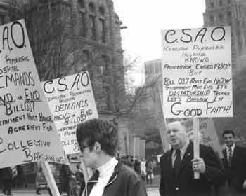 Membres de l'Association de la fonction publique de l'Ontario