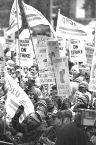 Salariés des CAAT(S) en grève