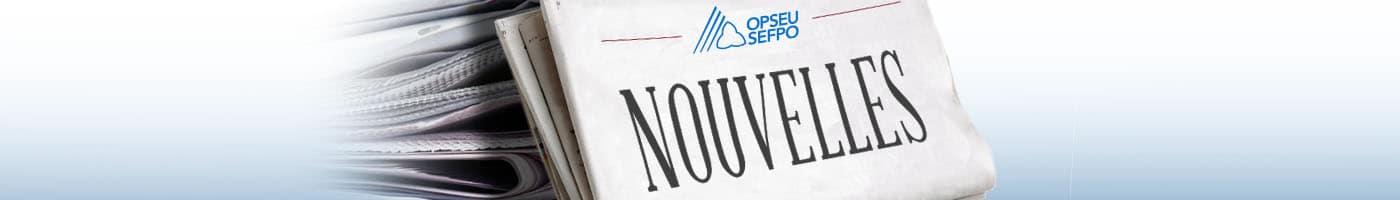 SEFPO Nouvelles bannière