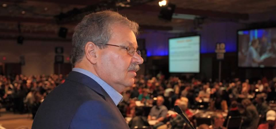 OPSEU/SEFPO President Warren (Smokey) Thomas