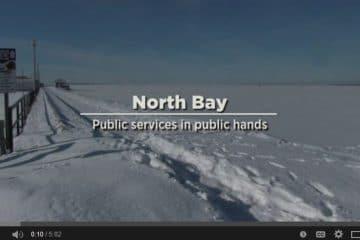 North Bay : Les services publics dans les mains du public