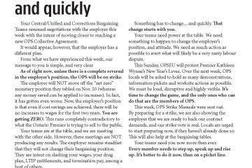 Tour de table de la FPO, numéro 3 : Quelque chose doit changer … et rapidement