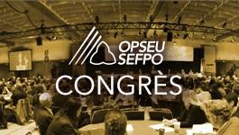 Un groupe de délégués assis dans une salle de conférence illustrant le Congrès
