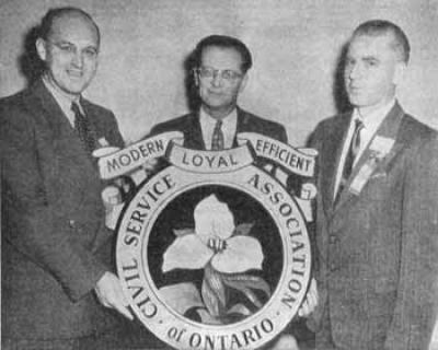 Harold Bowen, président de l'Association de la fonction publique de l'Ontario