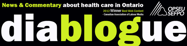 Diablogue. News & Commentary about health care in Ontario
