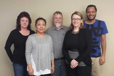Les membres du Comité des fonds de solidarité