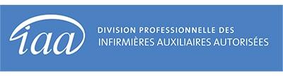 IAA Division professionnelle des infirmieres auxiliaires autorisees