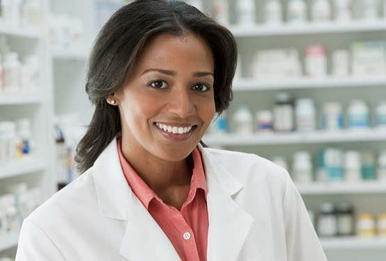 Female Pharmacist.