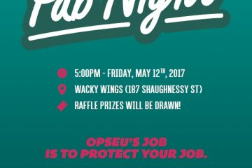 OPSEU Pub Night!