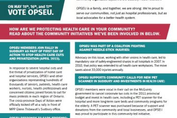 OPSEU in our community: More than a union
