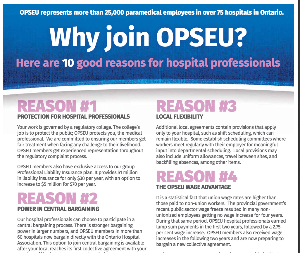 Pourquoi adhérer au SEFPO? Voici 10 bonnes raisons d'adhérer pour les professionnels hospitaliers.
