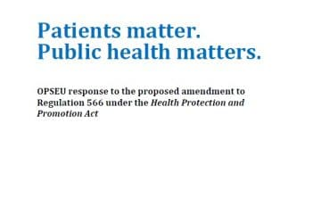 Submission: Patients matter. Public health matters.