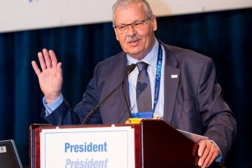 Un message du président Warren (Smokey) Thomas sur les élections régionales de samedi
