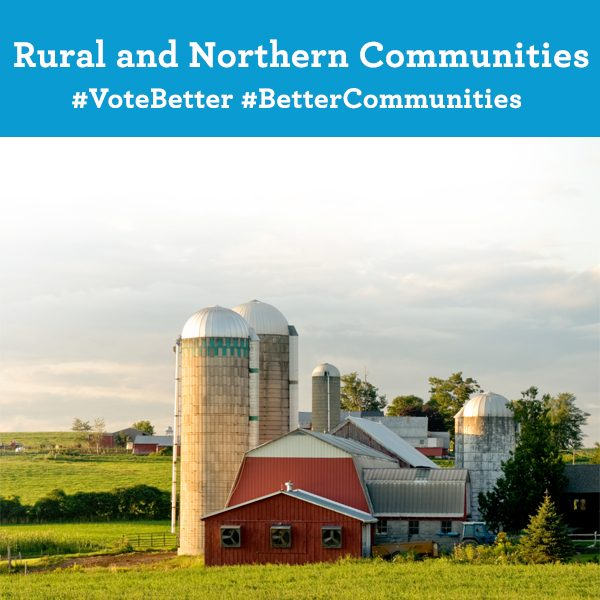 Rural and Northern Communities. Vote Better. Better Communities.
