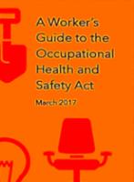Guide des travailleurs sur la Loi sur la santé et la sécurité au travail
