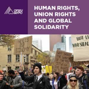 Human Rights, Union rights and global solidarity