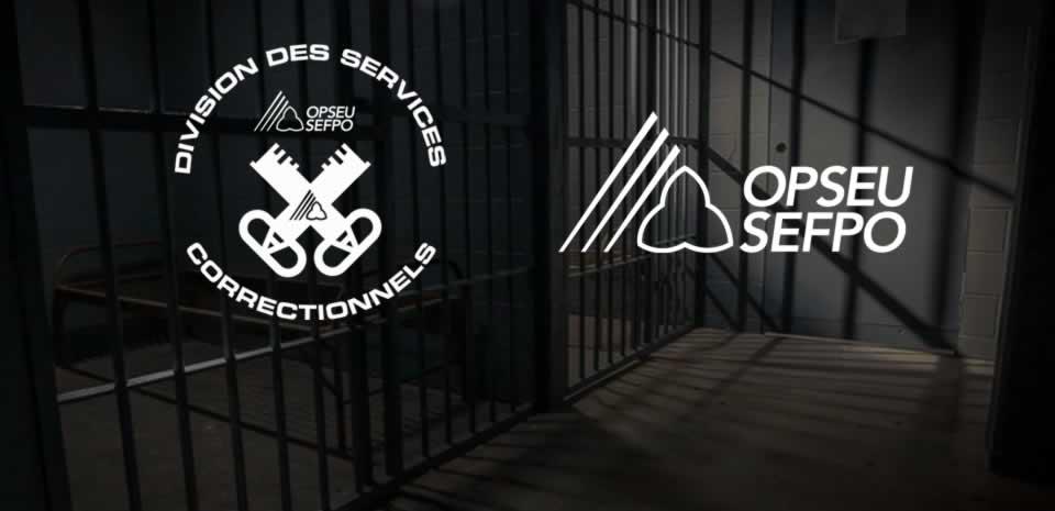 Division des services correctionnels SEFPO