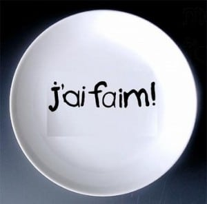J'ai faim! button