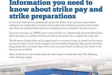 2013 Collective Bargaining: News Alert Issue #6: Information you need to know about strike pay and strike preparations