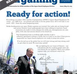 2013 Collective Bargaining: News Alert Issue #7: Ready for Action