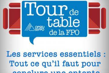 Tour de table 2016 de la FPO – L'arbitre répond à l'équipe