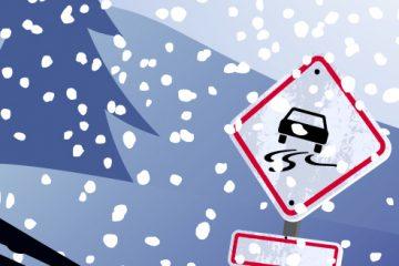 Conseils de conduite hivernale