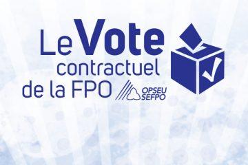 Offres de la FPO : Oui pour l'équipe unifiée, non pour les Services correctionnels