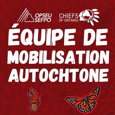 SEFPO, Chiefs of Ontario - Equipe de mobilisation autochtone