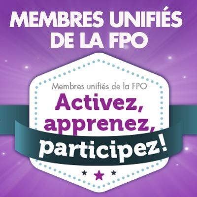 Membres unifiés de la FPO : « Activez »