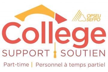 Bulletin 10 du personnel de soutien à temps partiel des collèges : Un effort massif pour avancer
