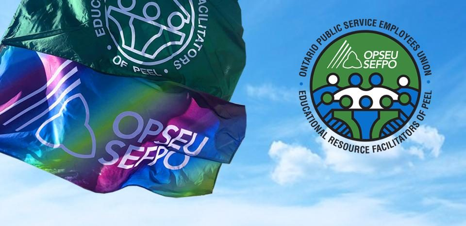 OPSEU and ERFP flags