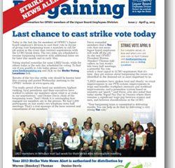 2013 Bargaining Strike Vote News Alert 7