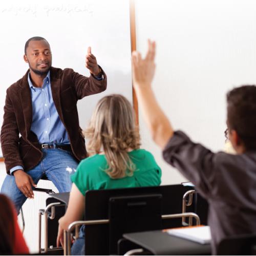 Classroom with Teacher