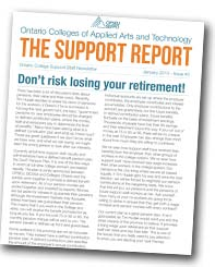 The Support Report cover January 2013