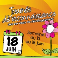 Journee de reconnaissance des services de developpement - Semaine du 13 au 18 juin
