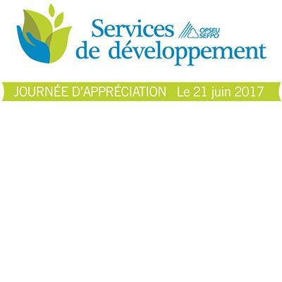 SEFPO Services de développement, Journée d'appréciation, le 21 juin 2017