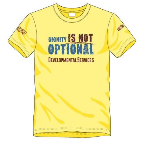 Dignity is not optional t-shirt
