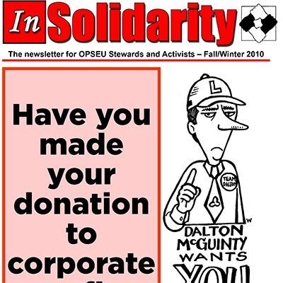 In Solidarity Fall-Winter 2010