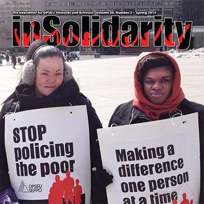 In Solidarity Spring 2013