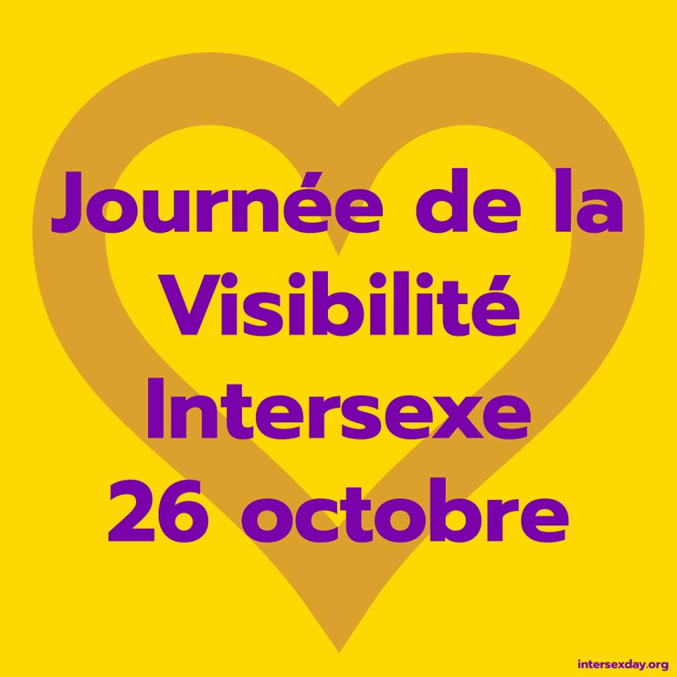 Journee de la Visibilite Intersexe - 26 octobre