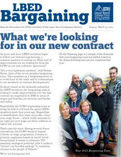 LBED Bargaining Bulletin Issue 4