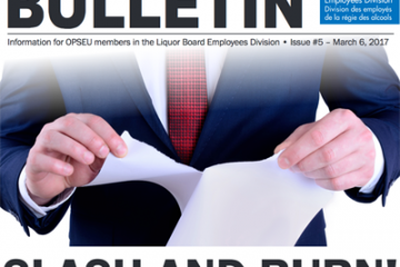 La tactique de la terre brûlée! – Bulletin de négociation de la LBED 2017, numéro 5