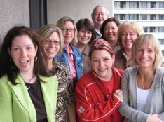 LBED bargaining team members.