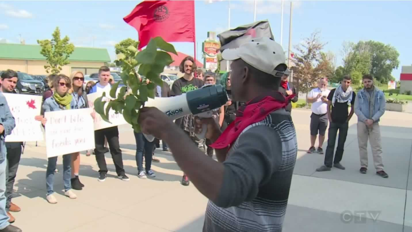 Leamington rally for migrant workers