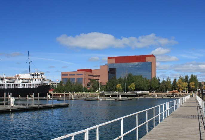 Ontario Lottery and Gaming Headquarters in Sault Ste. Marie
