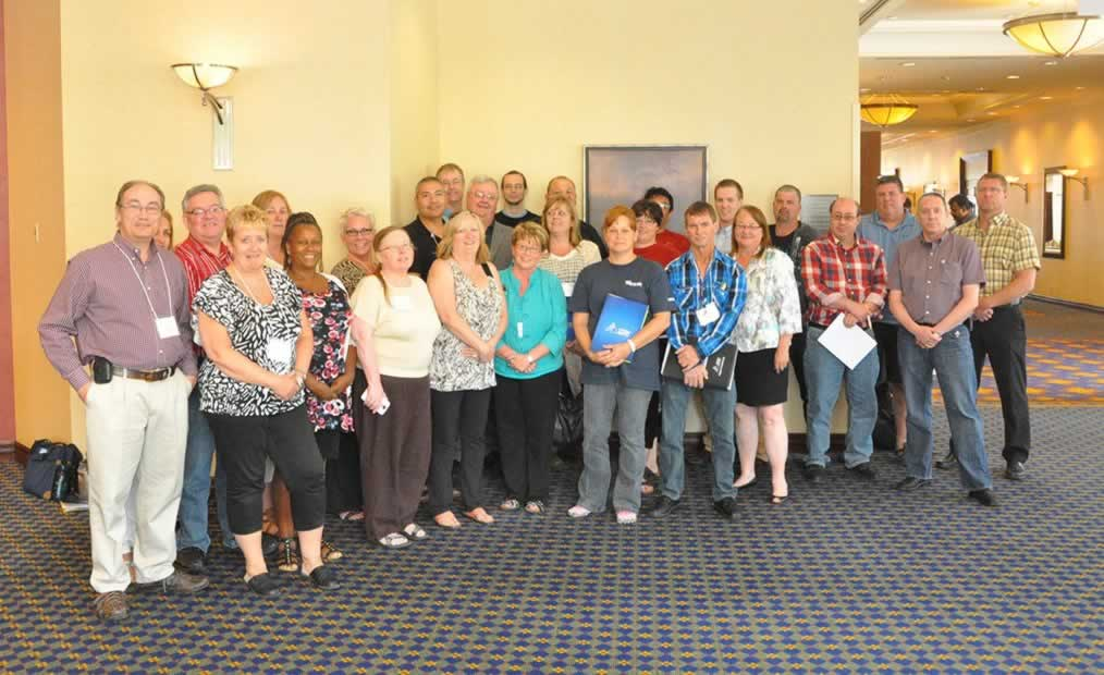 The OPS Central/Unified and Corrections Bargaining Teams on June 21, 2014