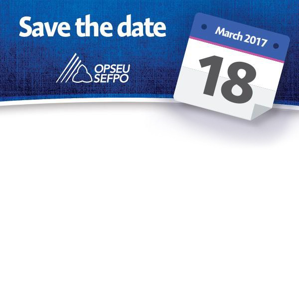 Save the date - March 18, 2017
