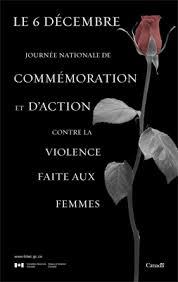 L3 6 Decembre Journee Nationale de commemoration et d'action contre la violence faite aux femmes