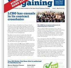 2013 Bargaining Strike Vote News Alert 2